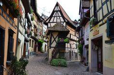 Eguisheim village, Alsace, France