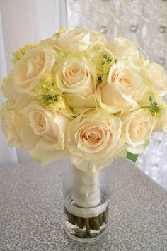 www.lepapillonevents.com, #Ivory #rose #bridal #bouquet, #Wedding