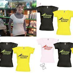 Alle unsere Garnelen T-Shirts fuer 19,99€ .Das gibt es nur bei