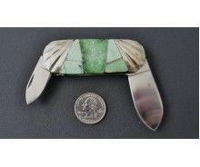 440C steel small elephant toenail  -  85 ct. natural Orvil Jack $1350