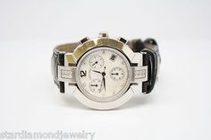 Concord Stainless Steel Diamond & Leather Band Watch   14.H1.1891 5 / 1221650