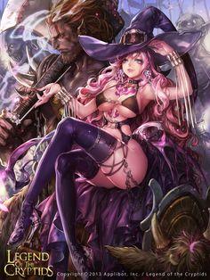 Artist: Unknown name aka NOX - Title: Unknown - Card: Mira, Genius Sorcerer (Prodigy)