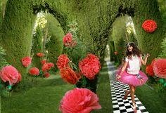 fantasy style, Spanish inspired, Alice wonderland, fashion photo session