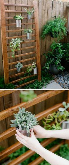 creative vertical garden