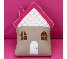 Adore this little pillow from Land of Nod