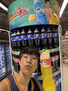 Thing 1, Actor Photo, Thai Drama, Your Boyfriend, Hot Boys, Handsome Boys, Boyfriend Material, Drink Bottles, Thailand