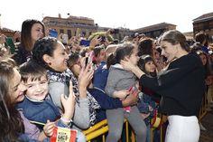 Visita de Sus Majestades los Reyes de España Felipe VI y Letizia a las localidades de Villanueva de los Infantes, Tomelloso y Talavera de la Reina. 18-05-2016 #RutadelQuijote #400Cervantes
