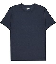 Mens Navy Crew Neck T-shirt - Reiss Bless Best Mens Fashion, Fashion Line, Reiss, Modern Man, Mens Clothing Styles, Neck T Shirt, Long Sleeve Tops, Crew Neck, Navy