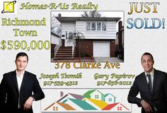 Just Sold - 378 Clarke Ave