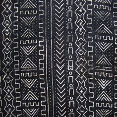 All Cotton Handwoven Mud Cloth #77