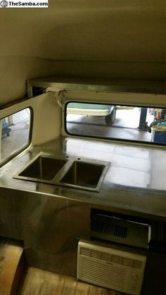 Food truck, vw bus