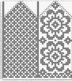 Фотография Knitted Mittens Pattern, Fair Isle Knitting Patterns, Knit Mittens, Knitting Charts, Knitted Gloves, Lace Knitting, Knitting Socks, Knitting Designs, Crochet Patterns