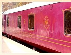 """""""GOLDEN CHARIOT""""   The latest Indian Maharaja Train Tour, """"Golden Chariot"""" offers an insight into treasure trove of archaeological wealth, abundant bounty for wildlife seekers and a kaleidoscope of culture for it's esteemed guests. It offers a mix of heritage, culture, eco-tourism and beach life. Recline & relax as the magnificent scenery unfolds outside your window with luxury on the inside, thus far reserved for royalty."""