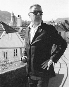 Norwegian author Tomas Espedal