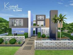 Kismet Modern house by chemy at TSR image 2932 Sims 4 Updates