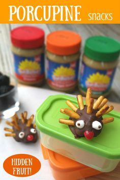 An adorable way to sneak fruit and protein into a snack! Pretzel sticks (I recommend Glutino Foods) 1 White & 1 red allergy-friendly jellybean  (such as Gimbal's Fine Candies) 1 Blackberry (washed) Your choice of SunButter 1-2 Tablespoons Enjoy Life Foods chocolate ½  Teaspoon oil (I recommend Winona Pure Oil)  Prep Time:           5 Minutes Assemble Time:  4 Minutes #GlutenFree #Top8Free #Snack #SunButter #Chocolate #Pretzel #Jellybean #GimbalsFineCandies #EnjoyLifeFoods #GlutinoFoods