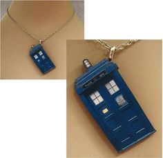 Dr. Who Tardis Police Box Pendant Necklace Jewelry Handmade NEW  Accessories #handmade #Pendant http://cgi.ebay.com/ws/eBayISAPI.dll?ViewItem&item=151386559362
