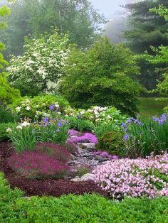~A Beautiful Spring Garden.~