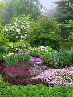 ~A Beautiful Spring Garden.~