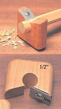 1/2 Dowel Rounding Planes- !R12 - The Japan Woodworker Catalog could be used to make arrows - follow my profile for more and visit my website Carpentry, Woodworking Jigs, Woodworking Projects, Japanese Woodworking Tools, Japanese Tools, Cool Tools, Diy Tools, Hand Tools, Japan Woodworker