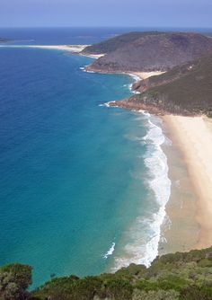 Some of the beauyiful beaches of the Shoal Bay area, Port Stephens, New South Wales, Australia. ** My Hometown.