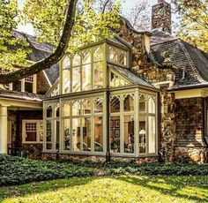 Ideas for Winter Gardens 55 # for Garden House Designs Exterior for . - Ideas for conservatories 55 House Designs Exterior for ideas conservator - Dream Home Design, My Dream Home, Glass House, Winter Garden, Exterior Design, Future House, Beautiful Homes, Beautiful Beautiful, House Beautiful