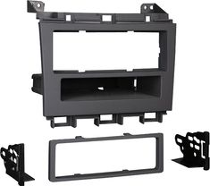 Metra - Dash Kit for Select 2009-2014 Nissan Maxima without OE NAV or tech - Black