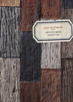 john whitmarsh: utility pole, ceramic tiles
