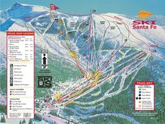 Ski Resort New Mexico Skiing Burton Taos Angel Fire Ski Sticker