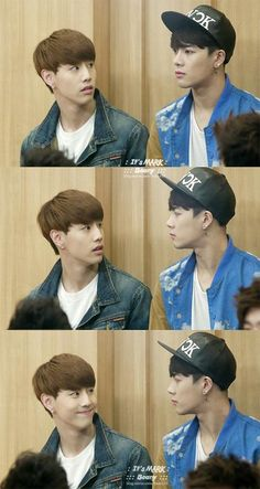 This is what I might look like when seeing a K-pop idol. Trying to not look like a stalker. Hahah #Jackson #GOT7 #mark
