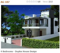 4 bedroom, duplex (2 floor) house design.Click on this link (http://www.apnaghar.co.in/pre-design-house-plan-ag-page-63.aspx) to view free floor plans (naksha) and other specifications for this design. You may be asked to signup and login. Website: www.apnaghar.co.in, Toll-Free No.- 1800-102-9440, Email: support@apnaghar.co.in