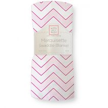Marquisette Swaddle Blanket - Chevron Limited Edition Pastel Pink $5.99