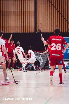 Floorball-Match in Thun vs Köniz Sports Pictures, Basketball Court