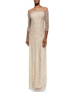 I love this Jenny Packham Beaded Strapless Illusion Gown NOW: USD 5,450.00  Extra 25% Off: $4087.50
