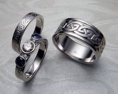 Viking/norse male wedding bands/rings
