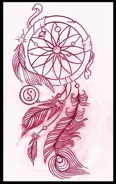 Dreamcatcher tattoo idea... love the planets in the middle!