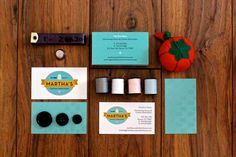 Martha's Custom Heirlooms Logo and Business Card