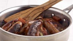 Browse our sausage recipes. Celebrate the Superquinn Sausage with these simple and tasty recipes. Sausage Casserole, Stuffed Mushrooms, Stuffed Peppers, Tasty, Yummy Food, Sausage Recipes, Real Food Recipes, Almond, Garden Candles