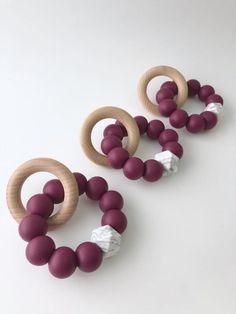 Teething Jewelry, Teething Beads, Teething Bracelet, Best Baby Gifts, Baby Christmas Gifts, Baby Sensory, Baby Teethers, Baby Toys, Baby Shower Gifts