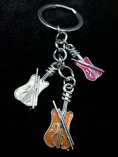 Cute Gift for Violinist Music Lover Musician Mini Violins Design Bag Accessory