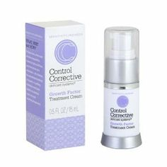 Control Corrective- Growth Factor Treatment Cream 0.5oz $36.00 Fueled by highly nutritious yeast derivatives plus antioxidant-rich vitamins, this concentrated treatment is housed in a soothing hydrating cream base. Ideal for accelerated repair and post resurfacing treatments.
