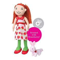 Groovy Girls Style Scents Strawberry-Scented Sadie Doll With Shortcake Bunny- $20.00.