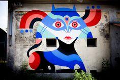 Giò Pistone - Italian Street Artist - Belluno (IT) - 09/2015 -  \*/  #giopistone #streetart #italy