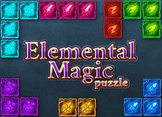 العاب اونلاين Elemental Magic, Puzzle Online, Online Games