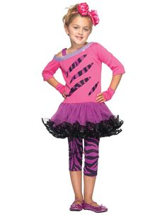 Become one of your favorite singers on stage in the Girls Rockstar Child Costume.  sc 1 st  Pinterest & diy 80u0027s girl costume | DIY 80s Costume Ideas | Halloween costumes ...