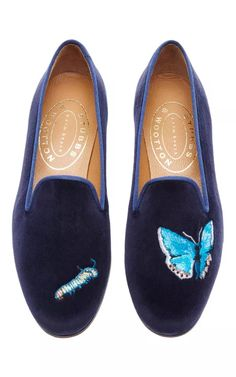 M'O Exclusive: Happy Menocal Metamorphosis Slipper by Stubbs & Wootton for Preorder on Moda Operandi