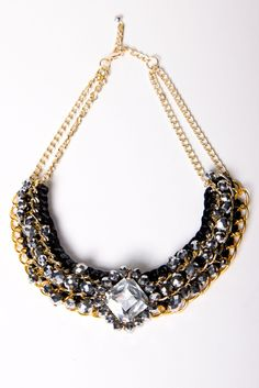A-thread collection necklace