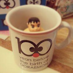 裏面係邊個靚仔??#Doraemon #100 years before the birth - @tszzlam- #webstagram