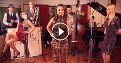 """Postmodern Jukebox Performs """"All About That Bass"""" in Classy Vintage Jazz Style"""