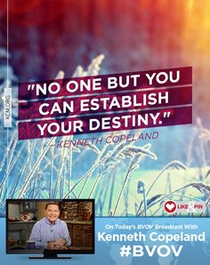 Don't be wishy-washy! Join Kenneth today on #BVOV and learn how to consistently use #faithwords every day and thereby determine your destiny. kcm.org/watch